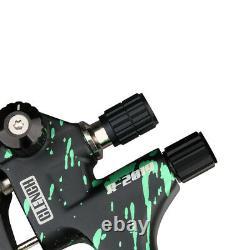 1.3mm 1.9mm Nozzle Air Feed Spray Gun Kit Car Paint 1/4 Connector Sheet Metal