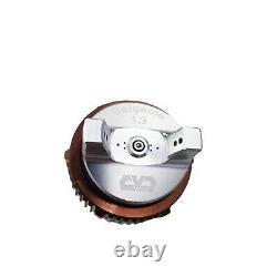 1.3mm Nozzle Paint Gun Water Based Air HVLP Spray Gun Airbrush 600ML Capacity