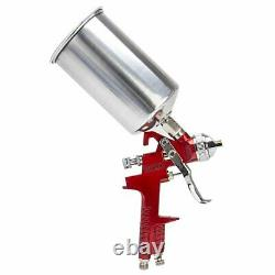 1.4mm HVLP Auto Gravity Air Feed Spray Gun With Regulator Paint Basecoat Clearcoat