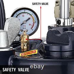 10 Gallon Pressure Feed Paint Pot Tank Spray Gun Sprayer Regulator Air Agitator