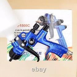 1500C Spray Gun 1.3mm LVLP Painting Tool Air Paint High Quality Good Atomization