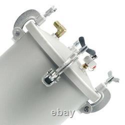 2 1/2 G 10L High Pressure Pot Air Paint Spray Gun, Pressure Tank with Spray Gun