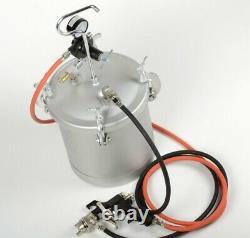 2-1/4 Gallon Air Spray Gun Home House Auto Painting Compressor HD Painter Tools