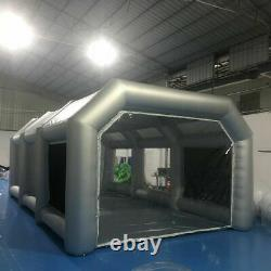 20x10x8FT Inflatable Spray Paint Booth Tent Mobile Car Paint +Air Filter System
