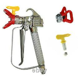 3600PSI Airless Paint Spray Gun with Tip&Tip Guard Sprayers US Fast shipping