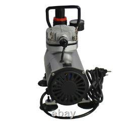 Air Brush Compressor Kit with Gunjet Fondant Cake Spray Graffiti Coating Machine