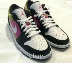 Air Jordan 1 Low Spray Paint CW5564-001 Size 10 Men's