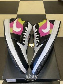 Air Jordan 1 Low Spray Paint New Size 10
