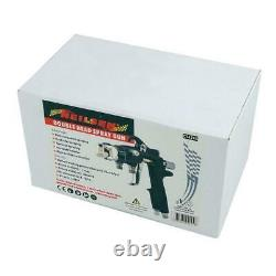 Air Spray Gun with Twin / Dual / Double Heads Paint Sprayer