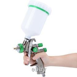 Auarita L-898 LVLP Gravity Feed Air Spray Gun 1.3 Paint Sprayer for car NEW