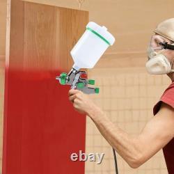 Auarita l898 LVLP Gravity Feed Air Spray Gun 1.3 Paint Sprayer Airbrush Painting