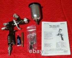 BINKS 1466-12LV-B1S LVMP Conventional Spray Gun Gravity Feed READ DESCRIPTION