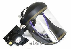 CRUSADER lite Type-R, AIR FED VISOR, Airfed Paint Spray, with Ratchet Head-band