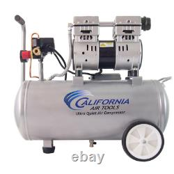 California Air Tools Electric Air Compressor Ultra Quiet and Oil-Free 8.0 Gal