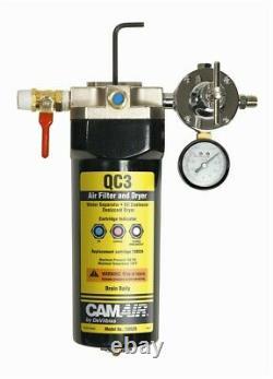 DeVilbiss 130525 QC3 Air Filter Desiccant Dryer for paint spray guns