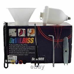 DeVilbiss Alien SRI Pro Lite TE5 Air Cap 1.0mm Fluid Tip Air Paint Spray Gun