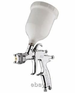 DeVilbiss FLG-5 1.4mm Paint Air Spray Gun + Air Pressure Regulator
