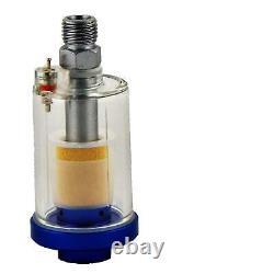 DeVilbiss FLG-5 2.0mm Paint Air Spray Gun + Air Filter & Pressure Regulator