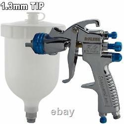 DeVilbiss SLG-620 1.3mm Air Paint Spray Gun + 13 Piece Cleaning Kit