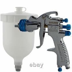 DeVilbiss SLG-620 1.3mm Air Paint Spray Gun + Air Pressure Regulator