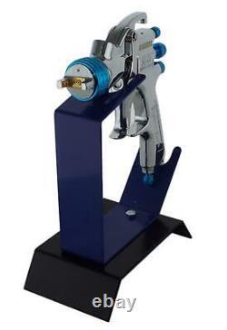 DeVilbiss SLG-620 1.8mm Air Paint Spray Gun + Bench Mount Stand