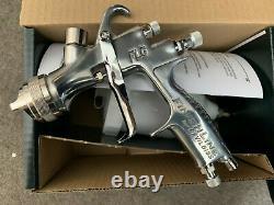 Devilbiss FLG-5 Spray Gun 1.8 mm Gravity Car Air Feed Sprayer For Paint Solvents