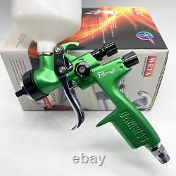 Devilbiss Spray Gun GTI PRO LITE Green 1.3mm nozzle LVMP Car Paint Tool Pistol