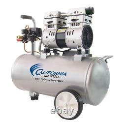 Electric Air Compressor Ultra Quiet Oil Free Low Maintenance 8.0 Gal. 1.0 HP