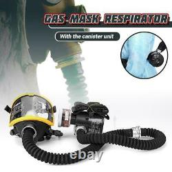 Electric Constant Flow Supplied Air Fed Face Gas Mask Spray Painting Tool Respir