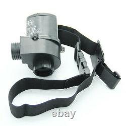 Electric Constant Flow Supplied Air Fed Full Face Gas Mask Spray Painting Tool
