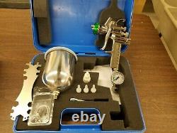 Hvlp Paint Spray Gun 1.5mm With Accessories New Demo In Carry Case