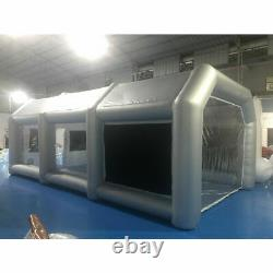 Inflatable Spray Booth Paint Tent Mobile Car Paint with Air Filter System Portable