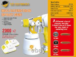 Multi-Purpose Air Spray Gun for Painting Air Cleaning Disinfection Portable