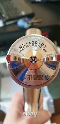 NEW Original IWATA WS400 supernova air paint spray gun with cup