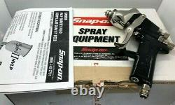 NEW SNAP ON Tools Air Paint Spray Gun HVLP Saber II Gravity Feed with BOX BF700