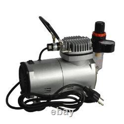 New Cake Sugar Machine Air Brush & Air Compressor Kit SP2- 20 Spray Air Brush