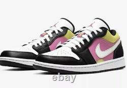 Nike Air Jordan 1 Low SE Fuchsia Cyber Size 15 Spray Paint CW5564-001