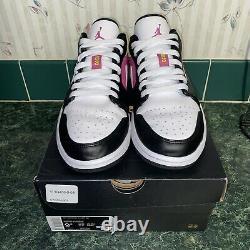 Nike Air Jordan 1 Low Spray Paint Mens Shoes CW5564-001 Size 9.5