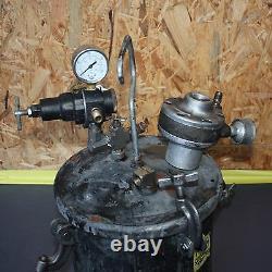 PRESSURE POT Spray Paint glue AIR DRIVEN Stirrer dispenser 10L