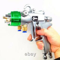Paint Spray Air Gun Hvlp Feed Gravity Kit New 2 Sprayer Auto 1 Car Press