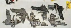 Paint Spray Gun Lot Tips Fittings Cap DEVILBISS Sharpe Astro and 2 unknown