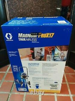 Pick Up Only New Graco Magnum Prox17 True Airless Paint Sprayer
