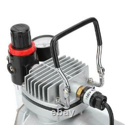 Piston Type Quiet Air Compressor Pump for Airbrush Model Painting Spraying CE