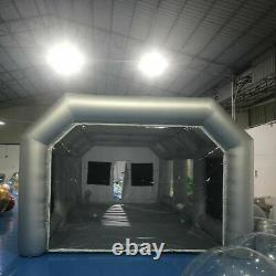 Portable Inflatable Spray Paint Booth Tent Mobile 2 Air Filter Nets 20108ft