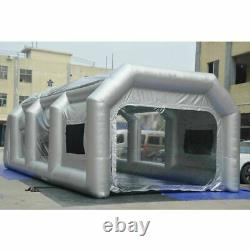 Portable Inflatable Spray Paint Booth Tent Mobile Car Tent with 2 Air Filter Net
