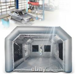 Spray Booth Inflatable Tent Car Paint Portable Cabin Air Filter 28x15x10FT