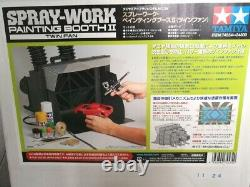 Tamiya Air Brush System No. 34 Spray Work Painting Booth II Twin Fan 74534 New