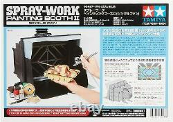 Tamiya Air Brush System No. 38 Spray Work Painting Booth II Single Fan 74538 New