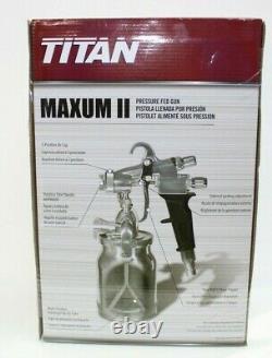 Titan Capspray Maxum II HVLP Turbine Paint Spray Gun 0524041