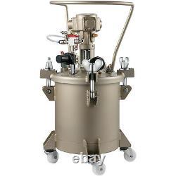 VEVOR 2.6 Gal Spray PaintPressure Pot Tank Automatic Air Paint Pressure Pot